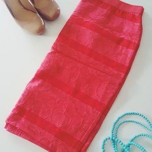 NWT Ann Taylor Coral skirt
